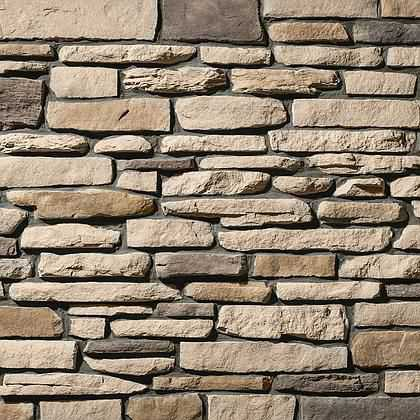 Osage Ledgestone - Manufactured Thin Stone Veneer - California Stone