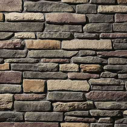 Saginaw Ledgestone - Manufactured Thin Stone Veneer - California Stone