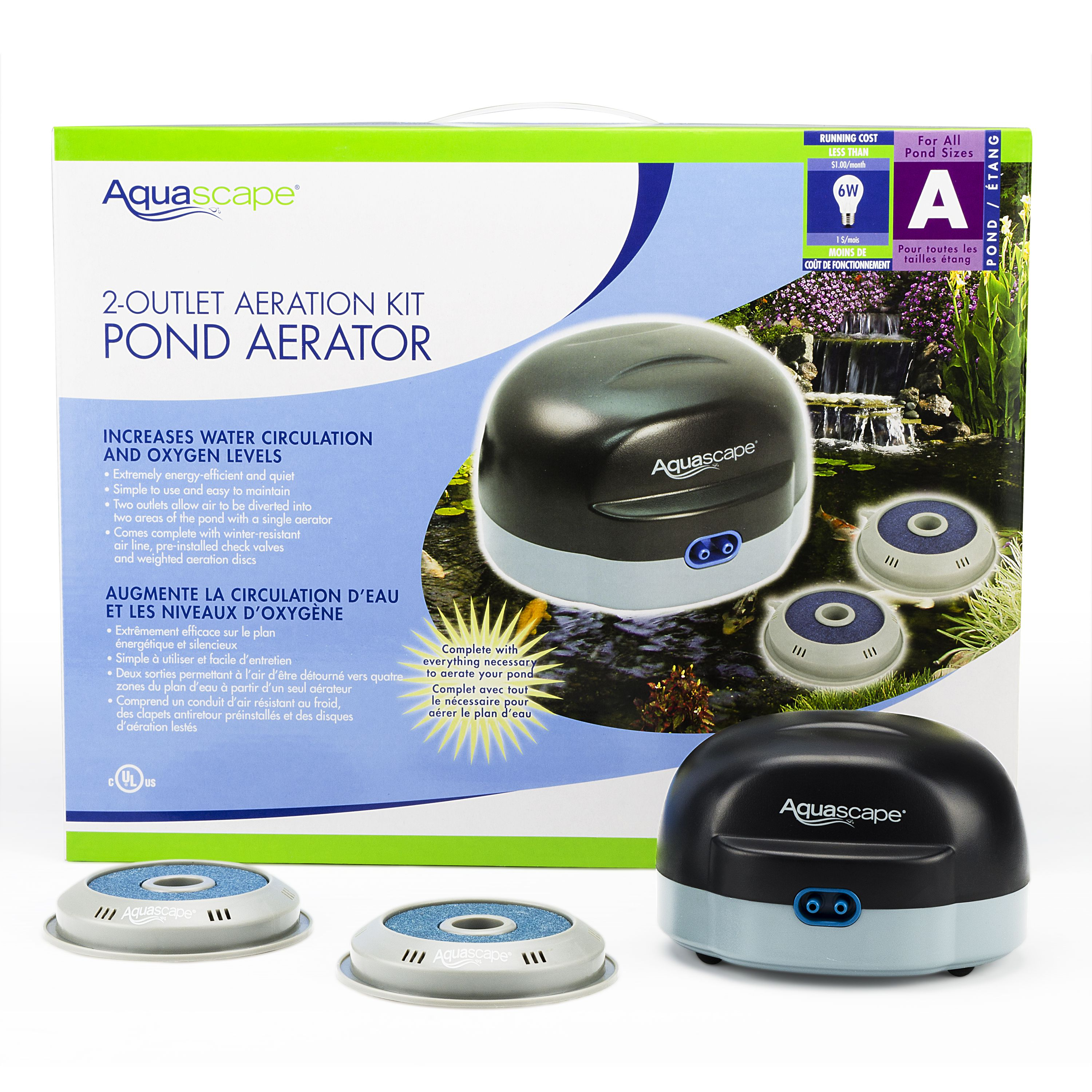 Aquascapes  garden pond power head at American Stone