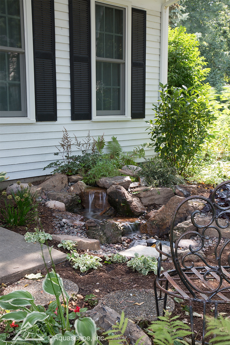 DIY Backyard Waterfall Kit