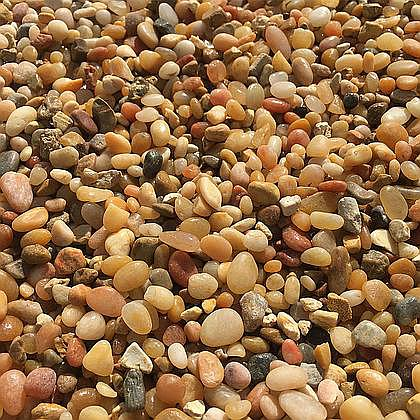 "Tan (Jelly Bean) ⅜"" Beach Pebbles"