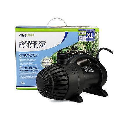 Aquasurge 5000 GPH Pump