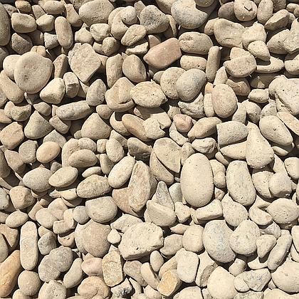 "1-2"" River Rock Cobble BULK"