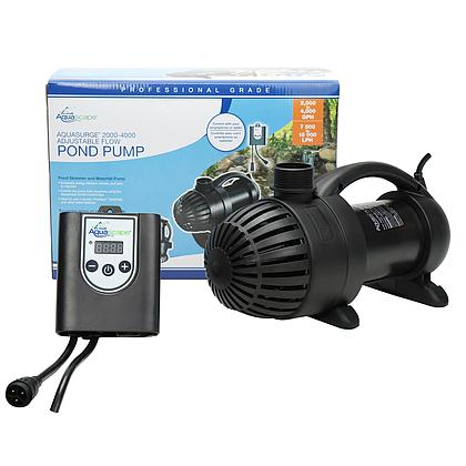 Pro Aquasurge 2000-4000 GPH Variable Flow Pump