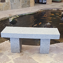 Mountain Ash Granite 4' Bench