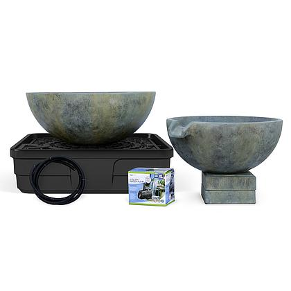 Spillway Bowl & Basin Landscape Fountain Kit